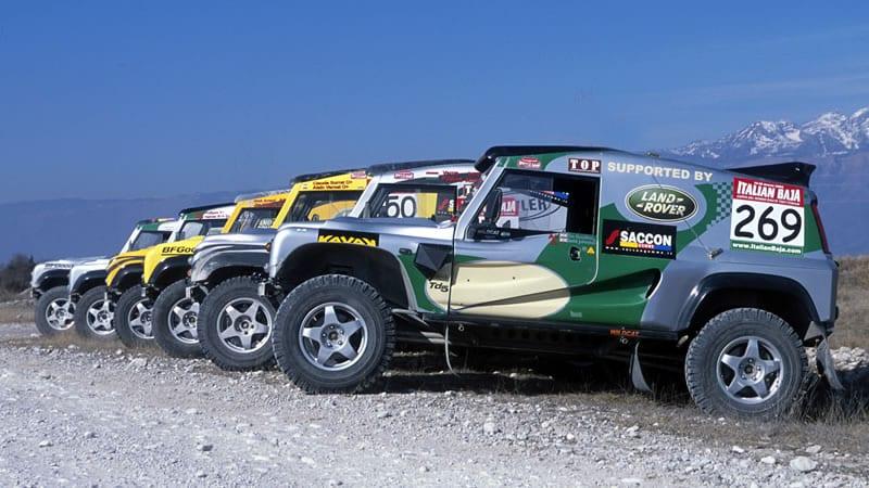 Second Largest Factory Team at Dakar