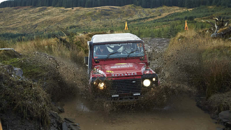 Launch of the Defender Rally Kit