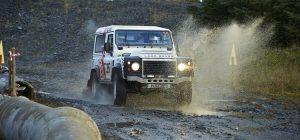Defender Challenge Scottish Borders Hill Rally Round 6