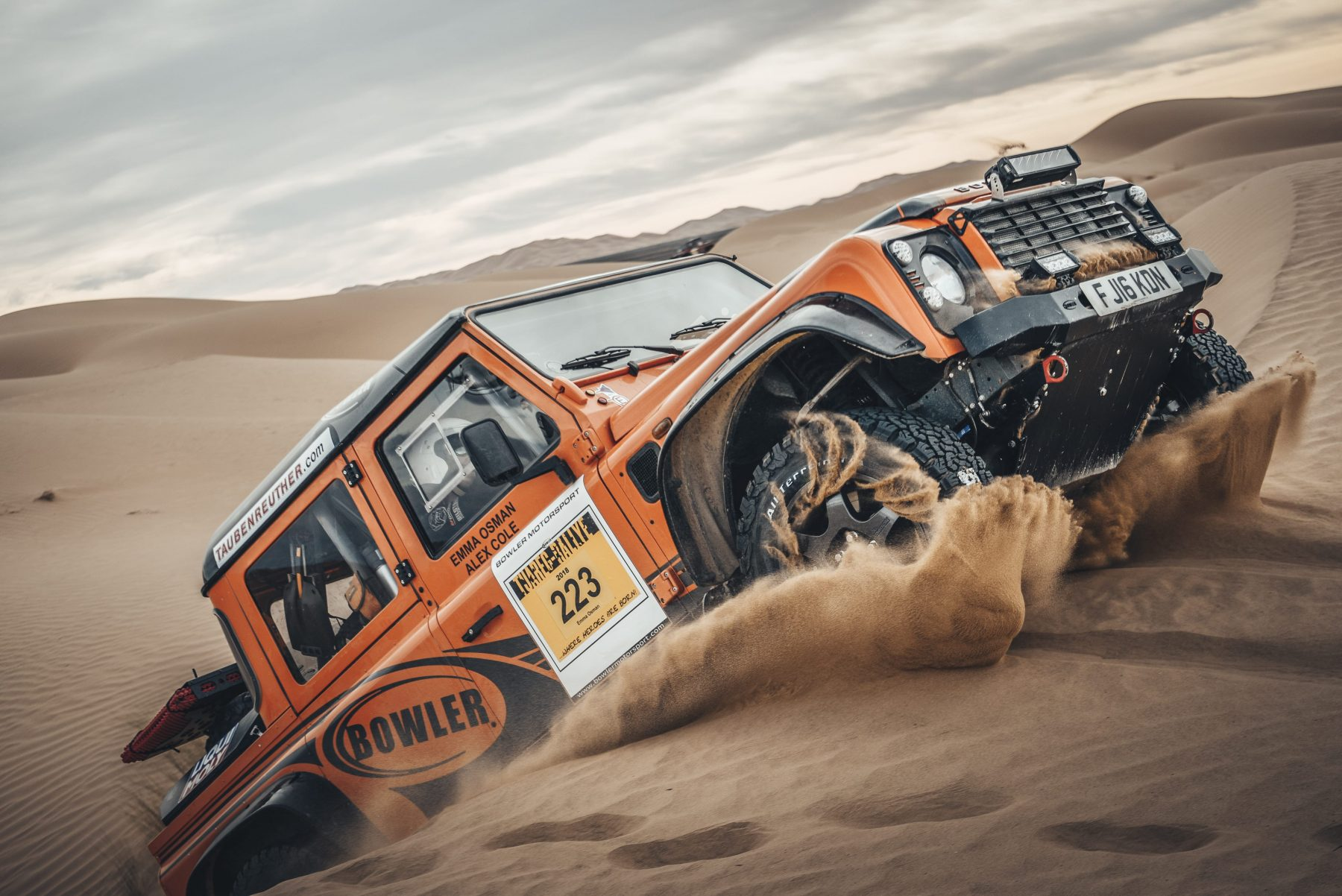 Tuareg Rally Champion Announced as Bowler's Test & Development Driver